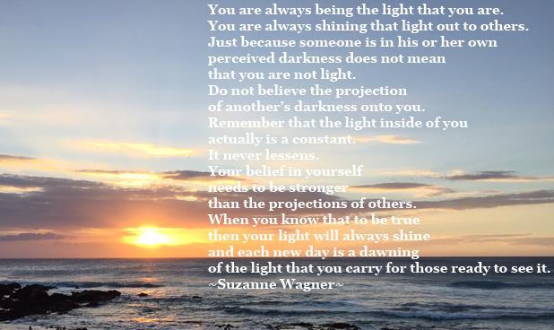 Youarealwaysthelight