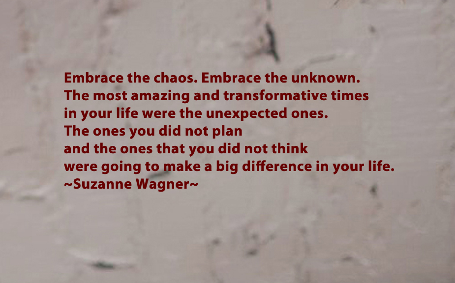 Life Quotes Unknown Endearing Suzanne Wagner Quotes  Embrace The Unknown  Suzanne Wagner