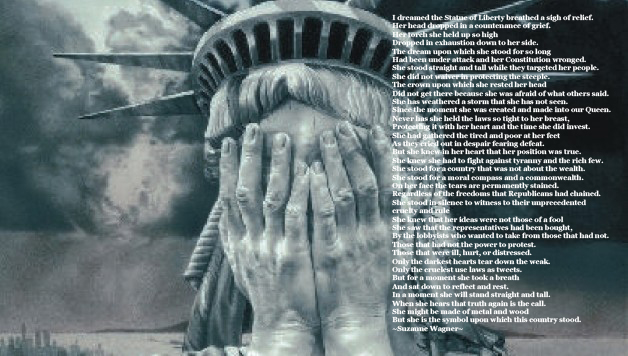 Statue Of Liberty Quote Captivating Suzanne Wagner Quote  The Exhaustion Of The Statue Of Liberty
